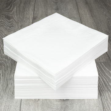 We manufacture a large range of tissue napkins available in 33cm 2ply, 40cm 2ply & 40cm 3ply. Along with our pure white Poppies Europe offer a large range of colours in all sizes and ply's. Our 8-fold range is also comprehensive as this is the 'go to' option for many restaurants to dress tables and lay cutlery to give a premium feel, along with saving time as they are ready folded.